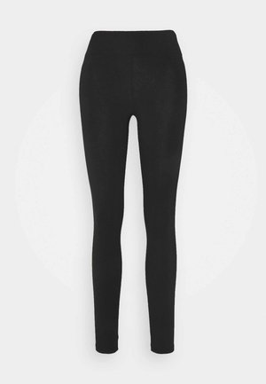 HIGH WAISTED DYLAN - Leggings - Trousers - black