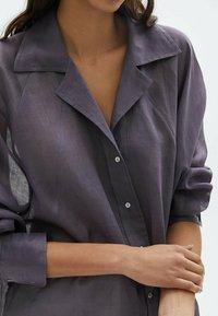 Massimo Dutti - Skjortebluser - dark purple - 3