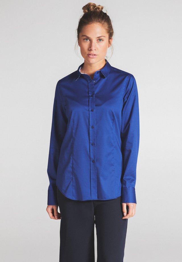 MODERN CLASSIC - Button-down blouse - kobaltblau