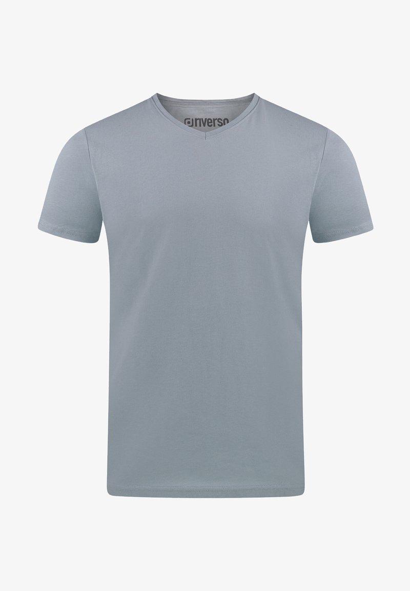 Riverso - Basic T-shirt - light blue