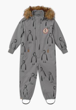 KEBNEKAISE PENGUIN - Snowsuit - grey
