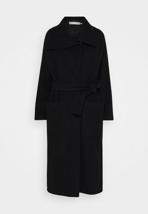 LAUDA SLIT COAT - Kåpe / frakk - black