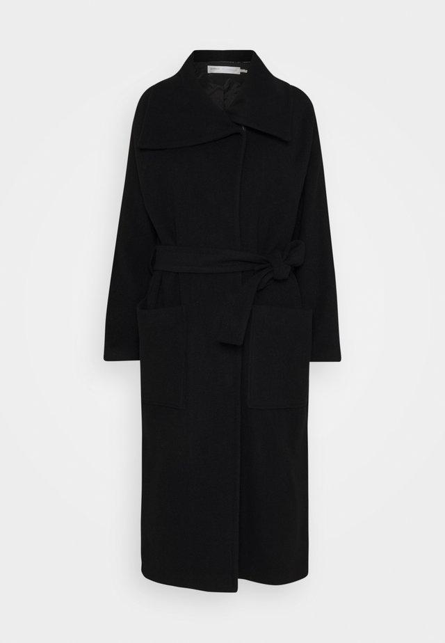 LAUDA SLIT COAT - Classic coat - black