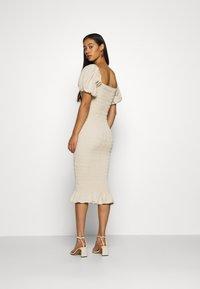 Never Fully Dressed - JOJO MIDI DRESS - Shift dress - offwhite - 2