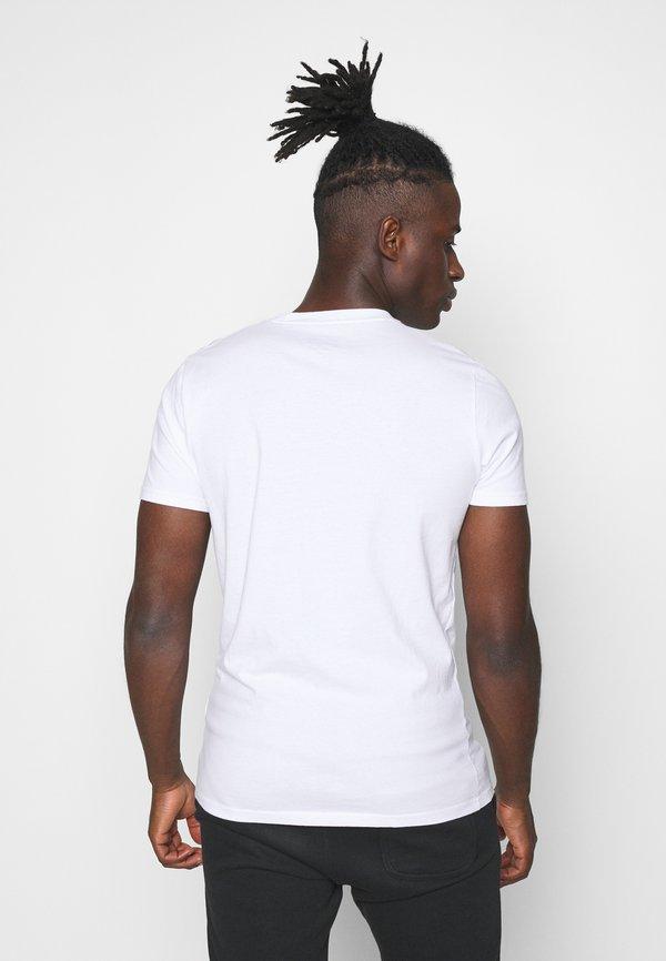 Hollister Co. CREW 7 PACK - T-shirt basic - white/burg/beige/navy/grey siro/green/black/biały Odzież Męska RDRL