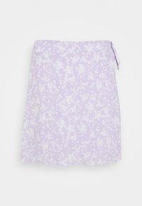 Cotton On - DREW WRAP SKIRT - A-line skirt - lena ditsy powder lilac - 3