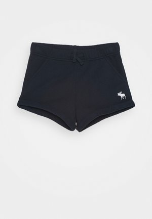 VINTAGE CORE CURVED HEM - Shorts - navy