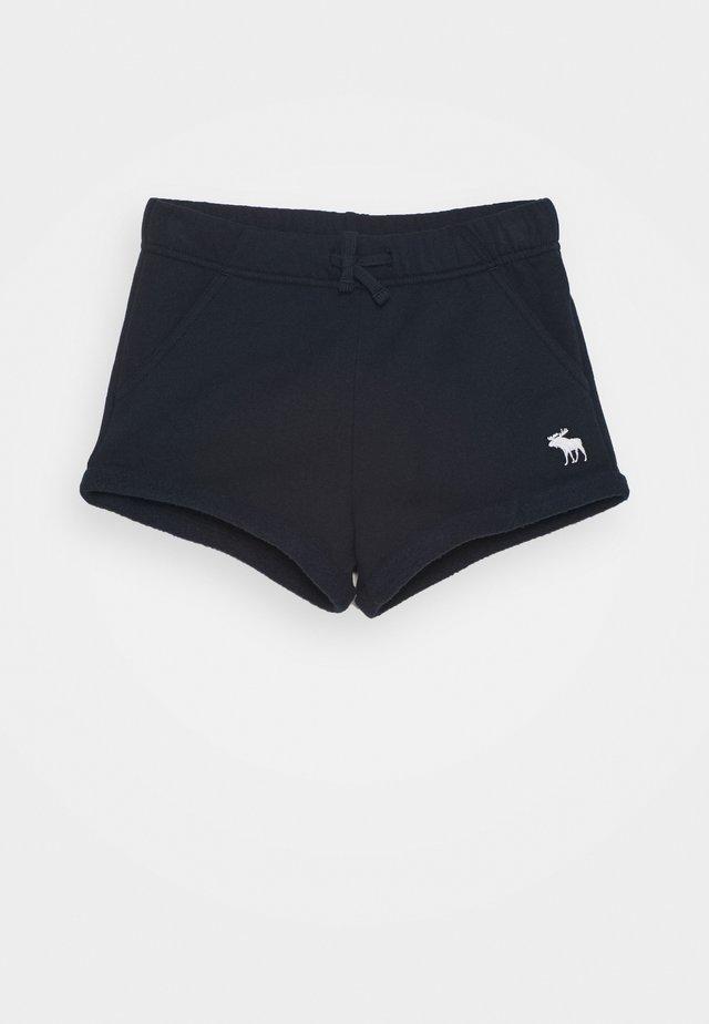 VINTAGE CORE CURVED HEM - Shorts - navy