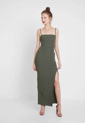 Maxi dress - khaki