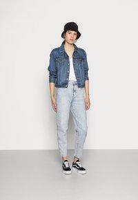 Levi's® - ORIGINAL TRUCKER - Veste en jean - soft as butter dark - 1