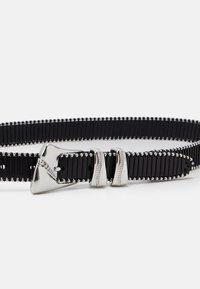 Iro - JALLA - Pásek - black/silver-coloured - 2