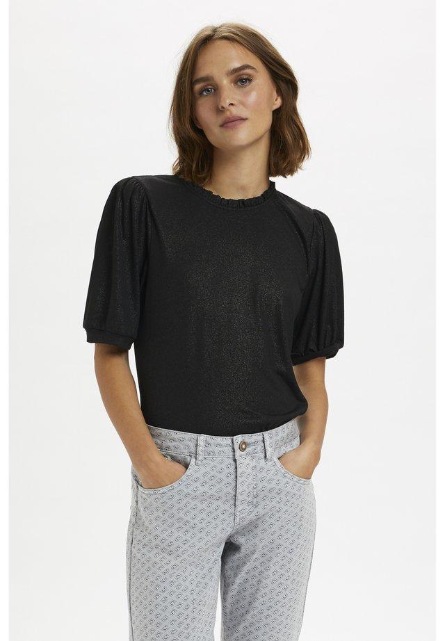 NAVIECR  - T-shirt print - pitch black