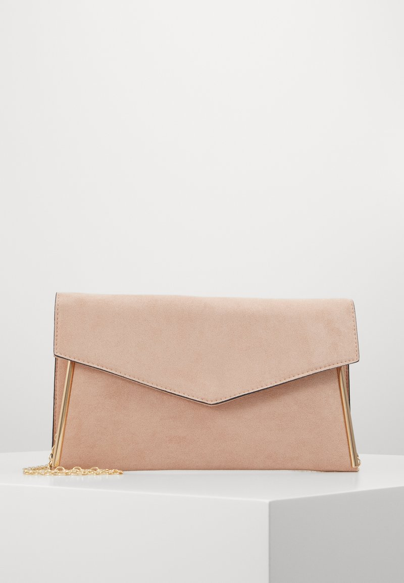 New Look - ALANA - Clutch - nude/gold