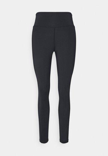 HIGH WAIST LEGGING - Tights - black