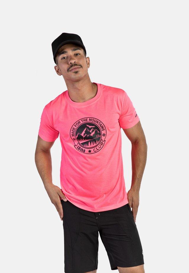 ZURICH - T-shirt con stampa -  pink