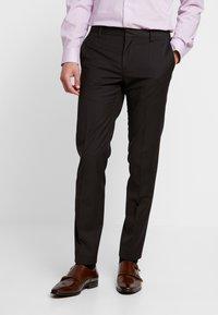 Tommy Hilfiger Tailored - SLIM FIT SUIT - Suit - brown - 4