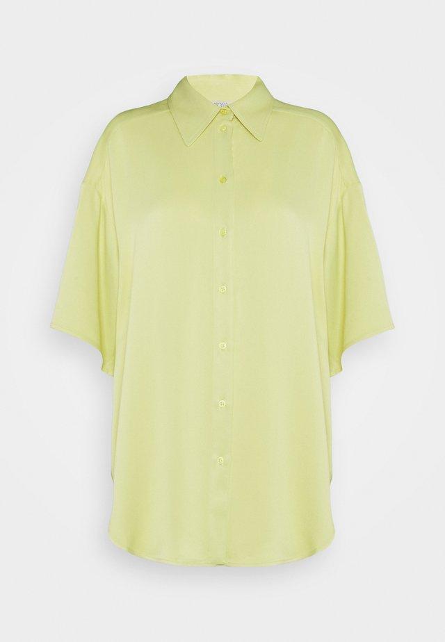 GLORIA - Button-down blouse - lime