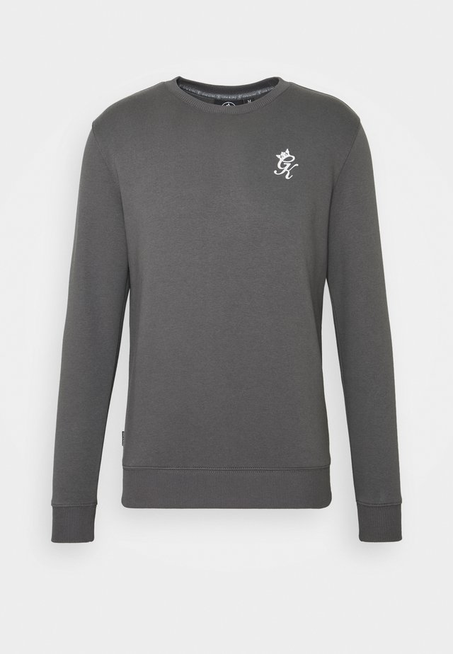 BASIS CREW  - Sweatshirt - dark grey