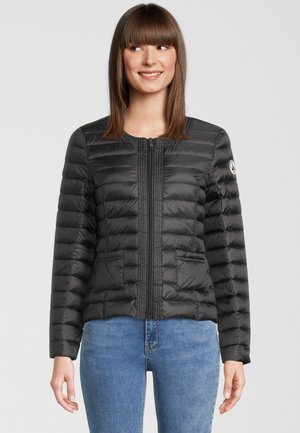 DOUDA - Gewatteerde jas - black