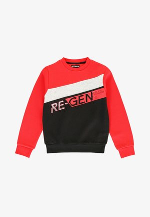 Sweater - ribbon red