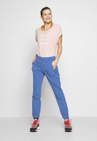 adidas Performance - TERREX EXPLORE  - Pantalon classique - dark blue - 1