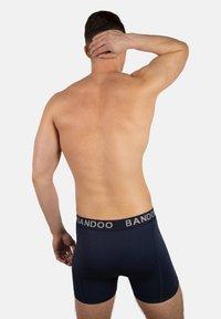 Bandoo Underwear - 2PACK - Pants - navy blue, cobalt blue - 1