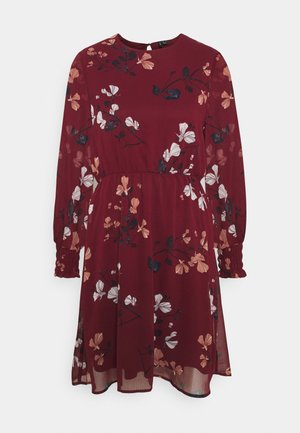 VMSMILLA DRESS  - Day dress - cabernet/hallie