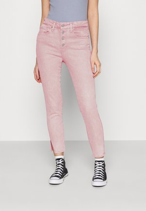 721 EXPOSED BUTTONS ANK - Jeans Skinny - urban peony