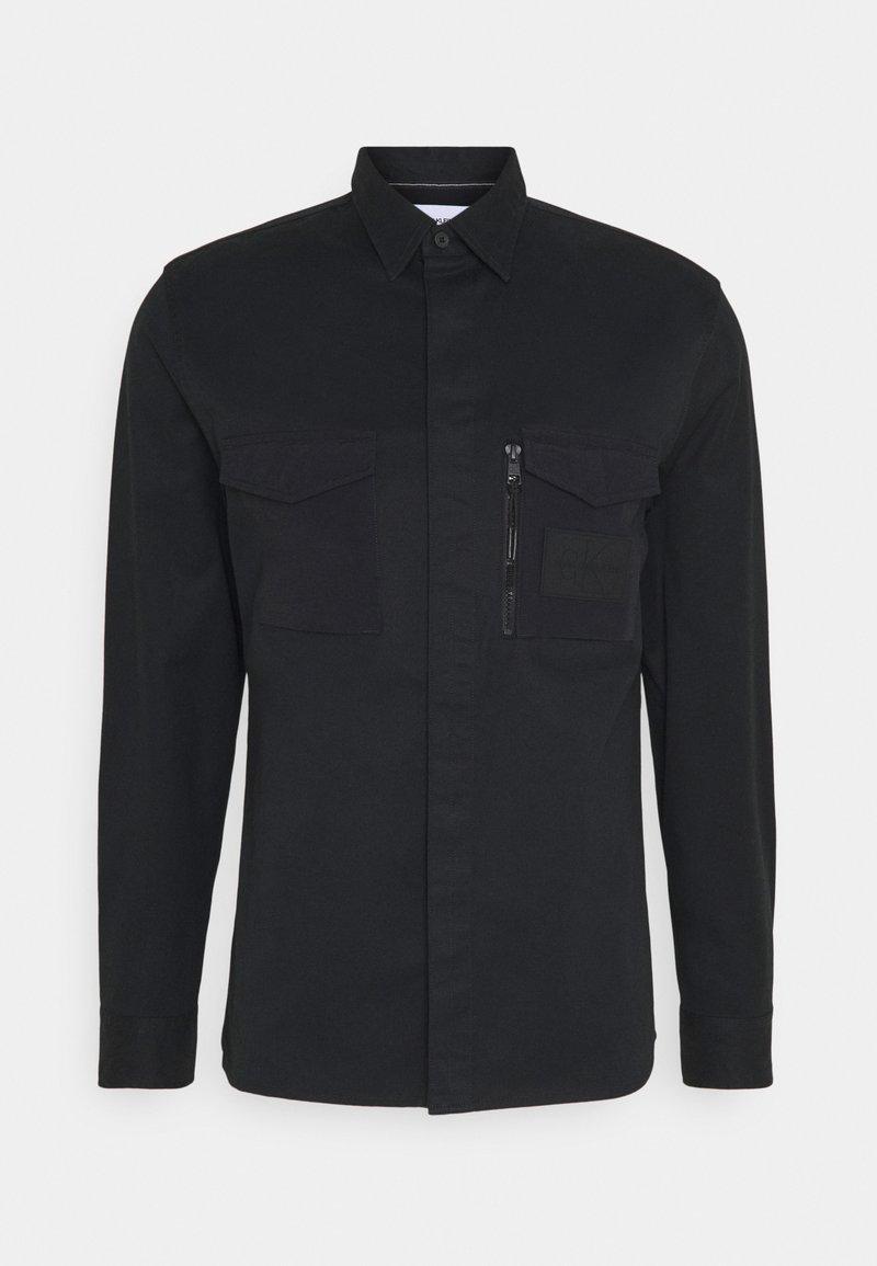 Calvin Klein Jeans - MINIMAL UTILITY - Koszula - black
