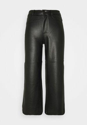 ONLMADISON WIDE CROP - Bukse - black
