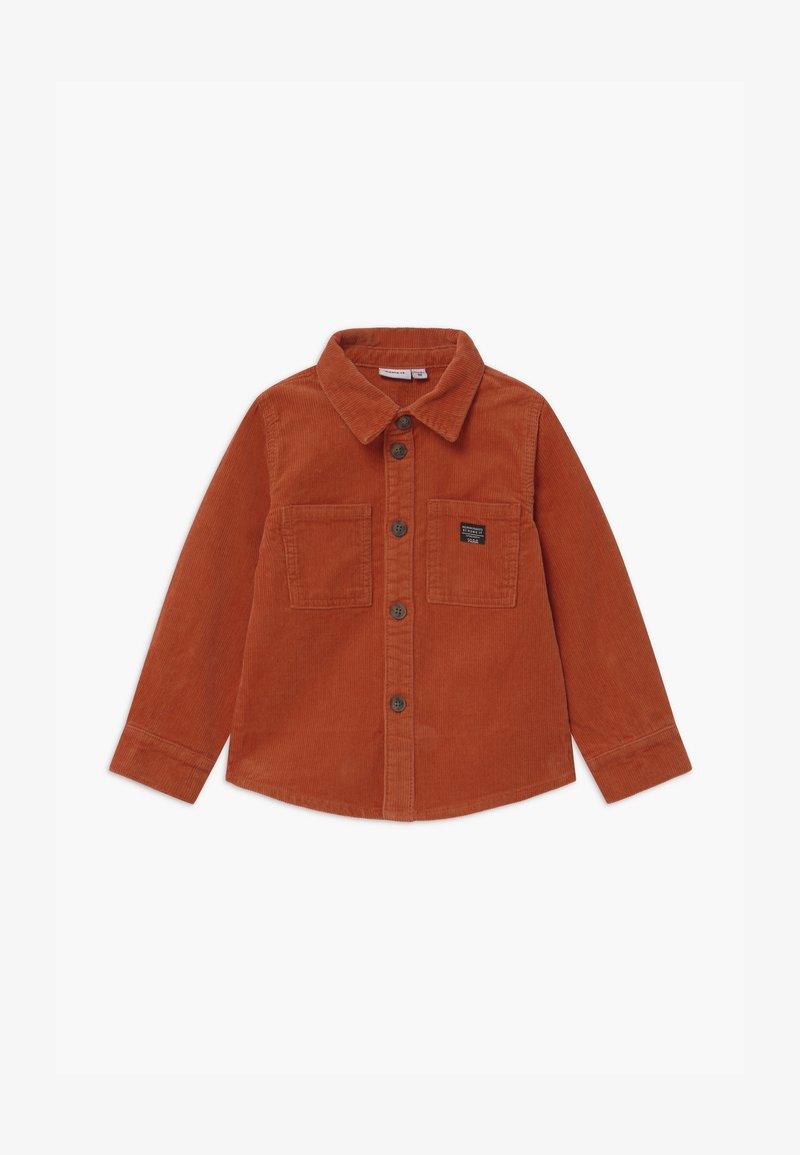 Name it - NMMBATAMI  - Overhemd - burnt brick