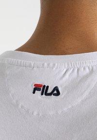 Fila - UNWIND TEE - Basic T-shirt - bright white - 3