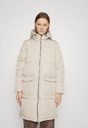 OBJZHANNA LONG JACKET  - Winter coat - silver gray
