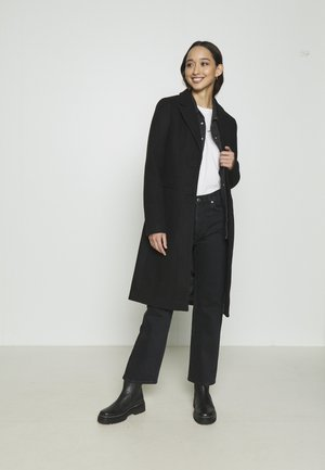 VMBLAZA LONG - Classic coat - black