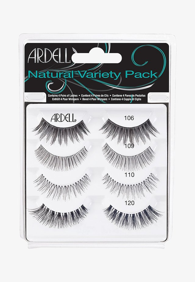 NATURAL VARIETY PACK - False eyelashes - -