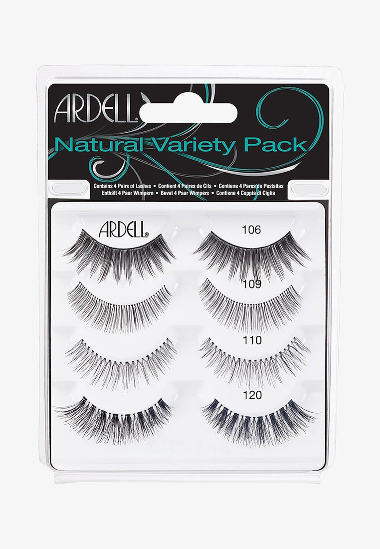 Ardell - NATURAL VARIETY PACK - False eyelashes - -