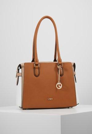 ELEONORA - Handbag - cognac