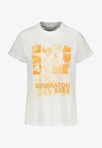 BOSS - Print T-shirt - weiss - 0