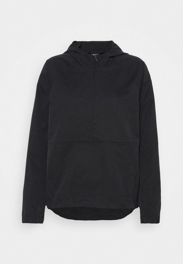 REPEL ANORAK - Vodotěsná bunda - black
