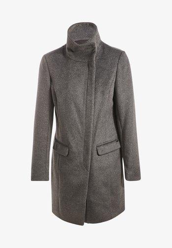 Abrigo clásico - gris foncé