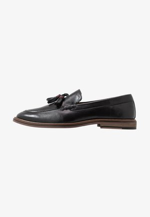 WEST TASSEL LOAFER - Mocassini eleganti - black