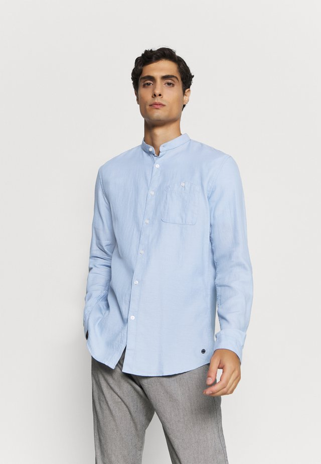 STRUCTURED - Hemd - light blue