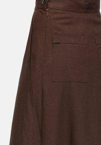 HELMIDGE - Maxi skirt - braun - 5