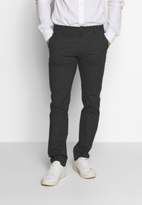 Selected Homme - SLHSLIM ARVAL PANTS - Trousers - grey - 0