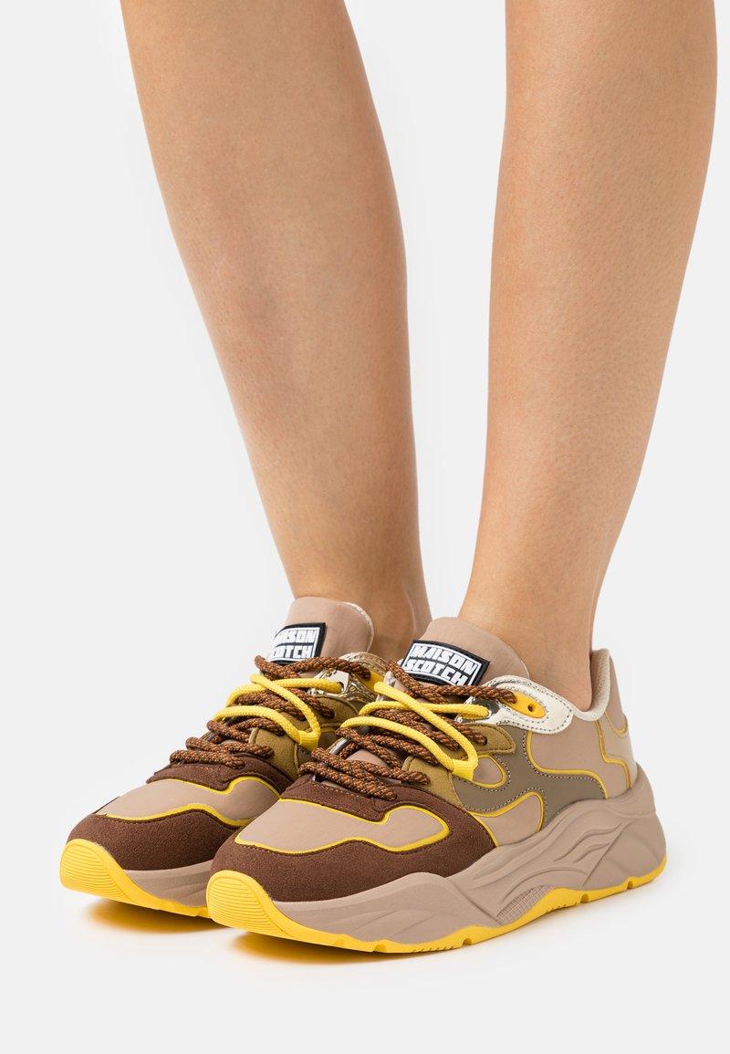 Scotch & Soda - CELEST  - Sneakers laag - braun