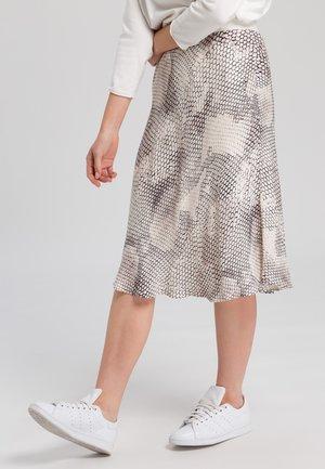 A-line skirt - light sand varied