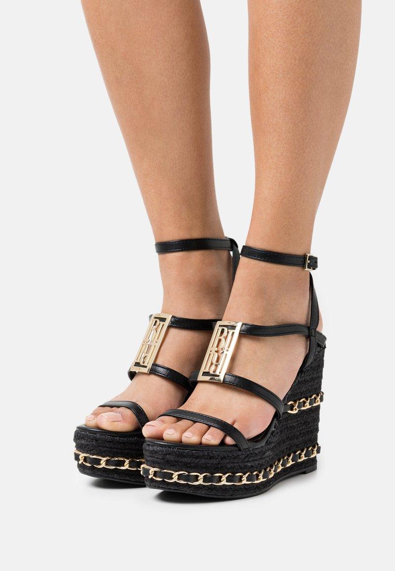River Island - Platform sandals - black