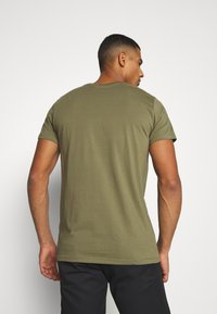 REVOLUTION - Print T-shirt - army - 3