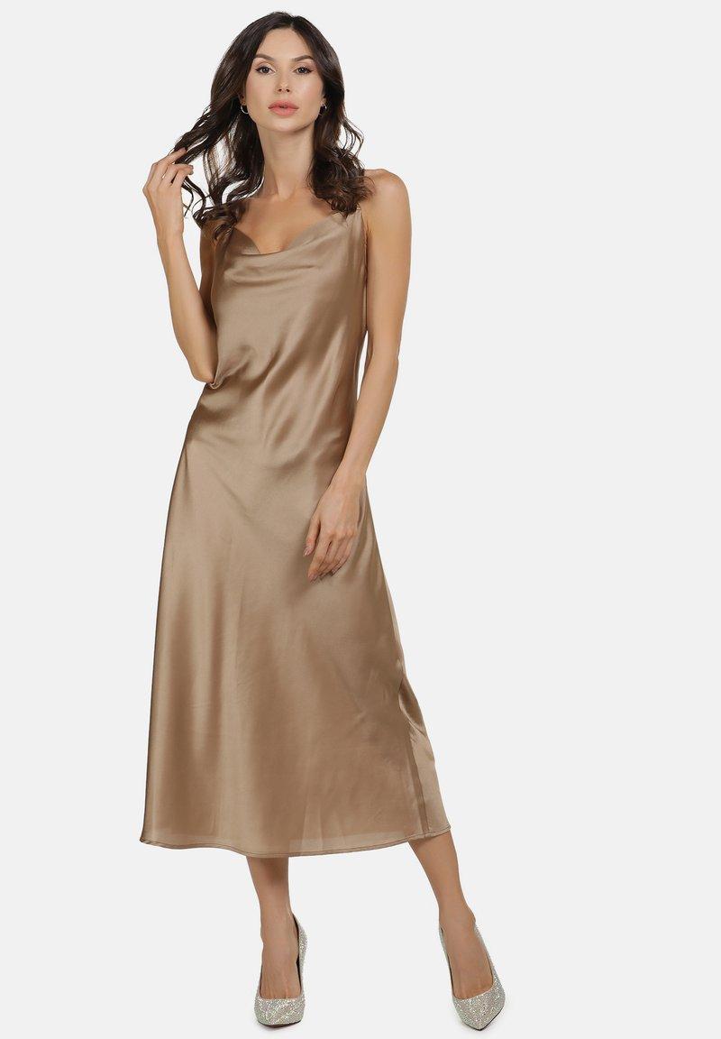 faina - Vestito elegante - champagner