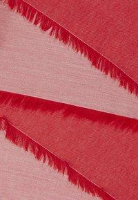 Emporio Armani - FOULARD TILED EAGLE PRINT - Šátek - graphic red - 2